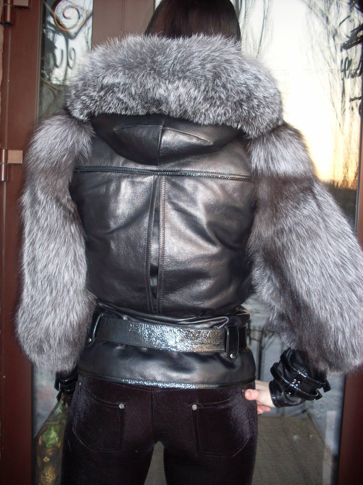 Как сшить курточку с мехом